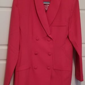 Vintage Tower Hill pink pants suit